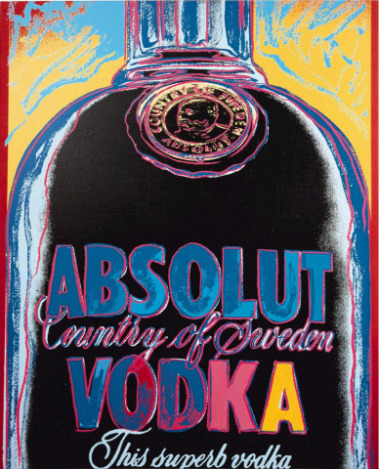 Andy Warhol (Absolut Vodka Campaign)