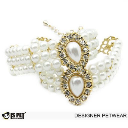 Ida Pearl Dog Necklace