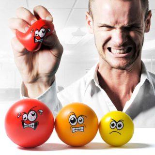 Anger Management Set of stress balls: image via geeky-gadgets.com