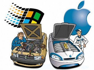 innovation microsoft vs apple All five tech giants have similar business model building blocks, but the  importance of each block varies in each model we break it down for.