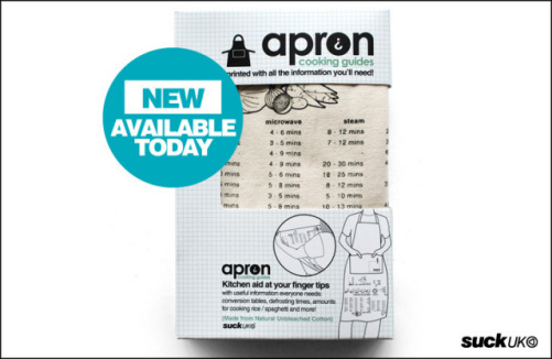Apron Guides by Suck UK: ©Suck UK