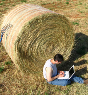 Satellite broadband gives farmers more communication access: image via saveafewbob.ie