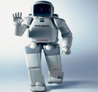 Honda's Asimo: Probably one of the best known robots out there.