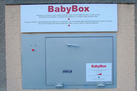 Baby box in the Czech Republic (Photo by Kirk/Creative Commons via Wikimedia)