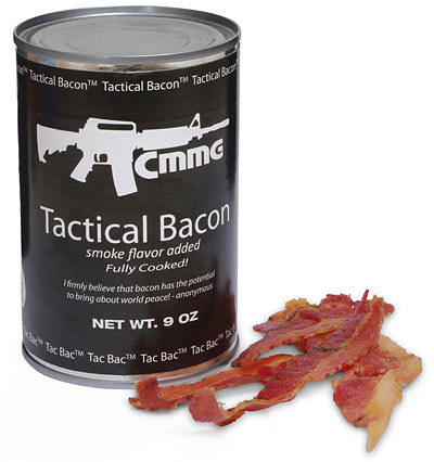Tac Bac -- Tactical Canned Bacon