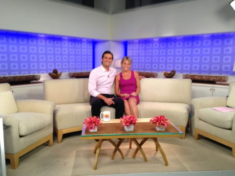 Nick and Elyse Oleksak on the Today Show