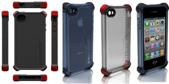 The iPhone 4 Ballistic Life Style Case: image via coolest-gadgets.com