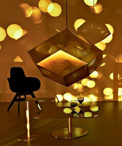Etch Light candle holder shades by Tom Dixon: © Tom Dixon