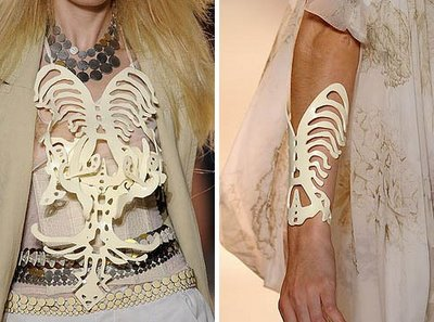 Skeletal Necklace