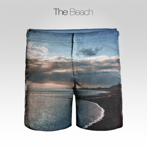 Beach Pattern Frank Anthony Shorts: Source: Kickstarter.com