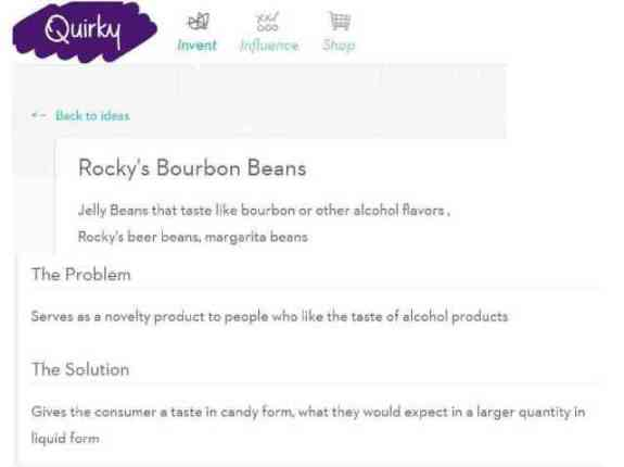 Rocky's Bourbon Beans on Quirky.com
