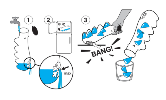 Polar Bear Ice Cube Tray Instructions