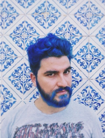 Want To Call Attention To Your Beard Add Some Wild Color
