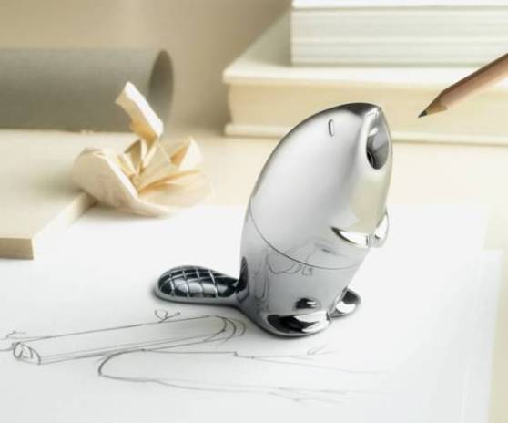 Kastor, The Beaver Pencil Sharpener By Alessi