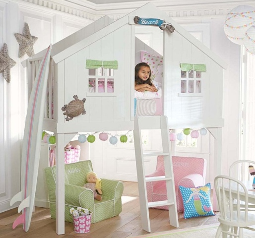 Treehouse Bed From Pottery Barn