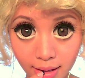 Big Circle Baby Doll contact lenses