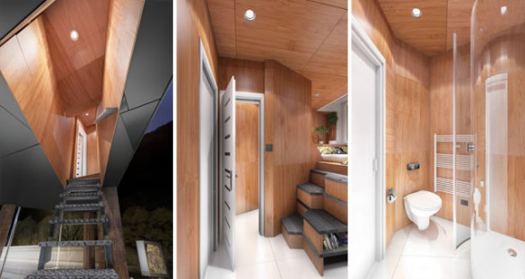Billboad Living Unit for the Homeless (Image via Bored Panda)