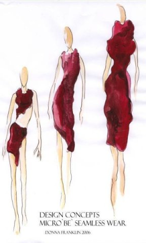 Drawings for Red Wine Dress: Source: Bioalloy.org