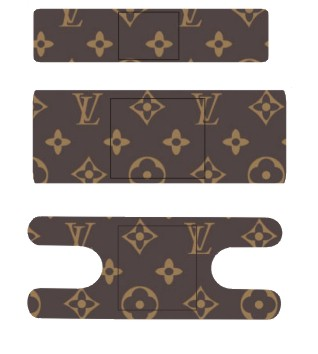 Luis Vuitton Leather Bandages