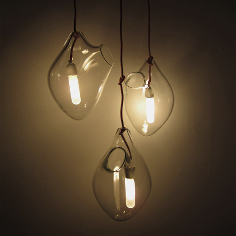Blinding Love Pendant Lights: © Periphere, image via mocoloco.com