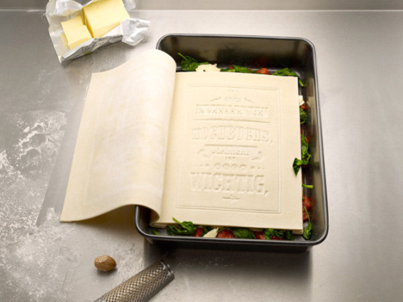 Edible Cookbook (Image via Gizmodo)