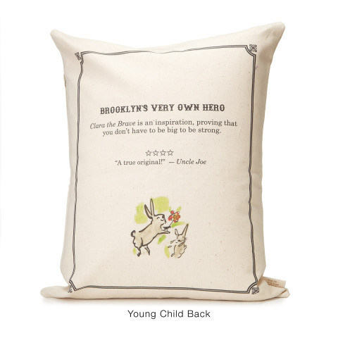 Storybook Pillow -- Back
