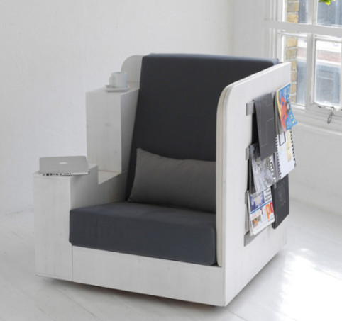 Openbook Chair by TILT