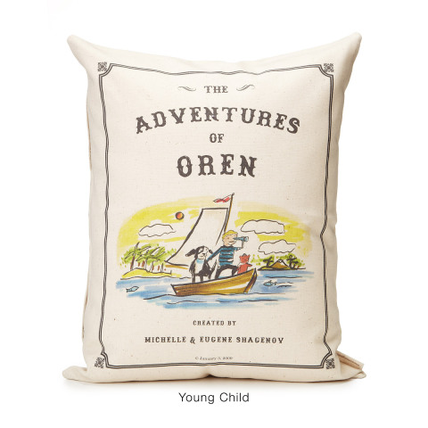Storybook Pillow -- A Different Title