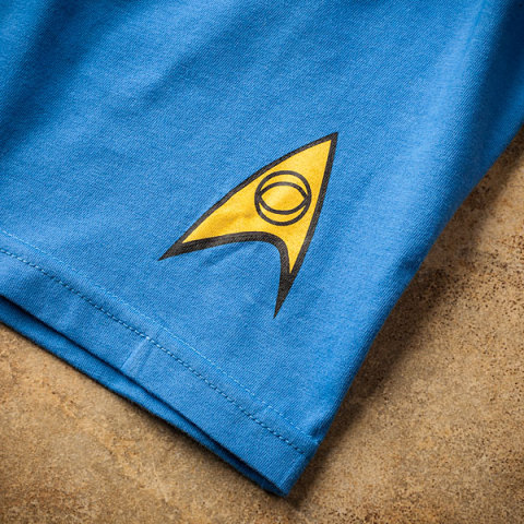 Star Trek Boxer Briefs with Science Officer Insignia