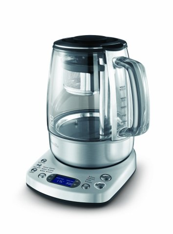 LCD screen located on the base allows for precise controls when steeping