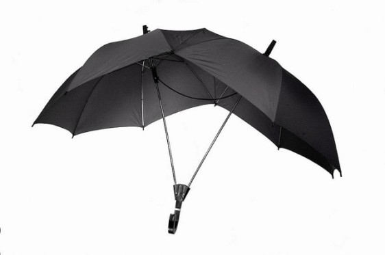 Dark Blue Two Person Umbrella