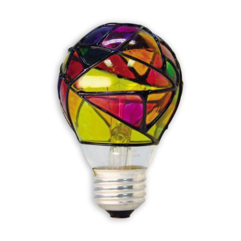 GE Stained Glass Light Bulb