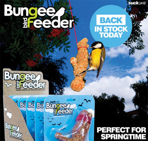 Bungee Bird Feeder: SUCK UK