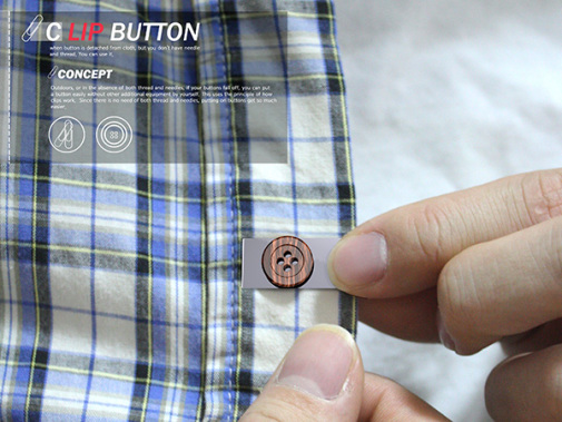 The Clip Button (Image via Yanko Design)