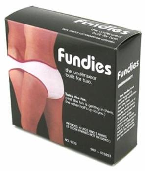 Oh how awesome! Now we can both wear the same underwear.