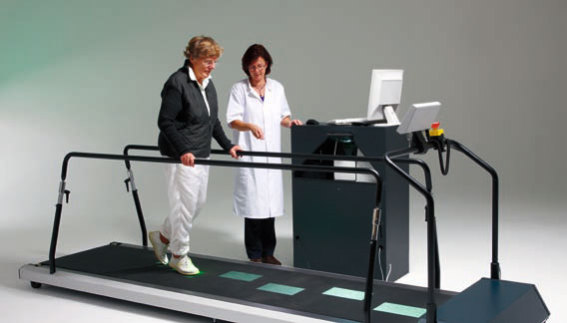 The Forcelink C-Mill lights the way to a new gait: ©Forcelink
