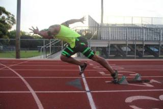 Sprinting With Bionic Resistance Suit