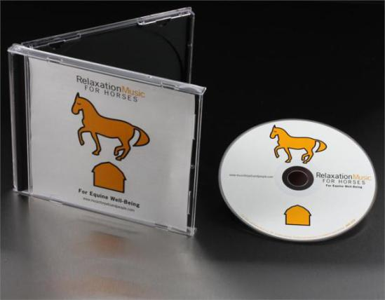 Relaxation Music For Horses CD by Pet Acoustics