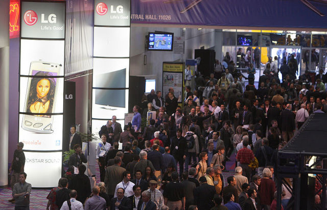 Crowd at the 2010 Consumer Electronics Show