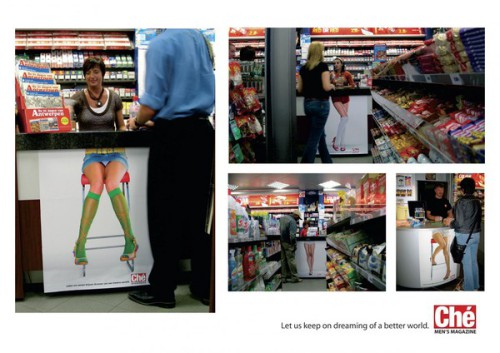 Che Magazine Legs Ad