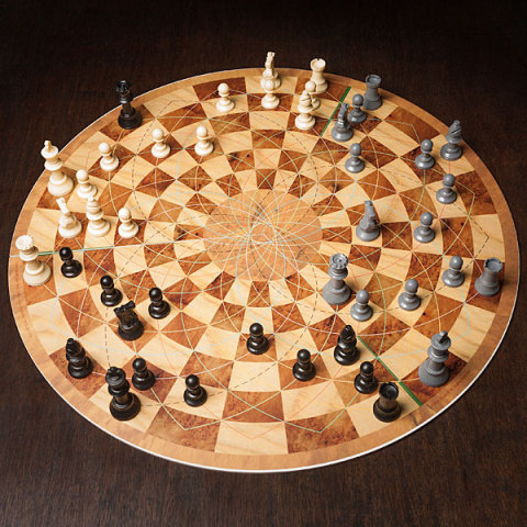 Want To Play Chess In The Round