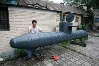 20 ft Handmade Submarine