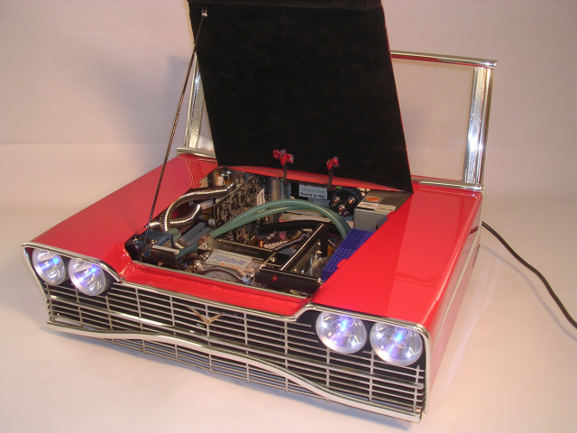 Retro Christine Gaming PC Case Will Fill You With Fury