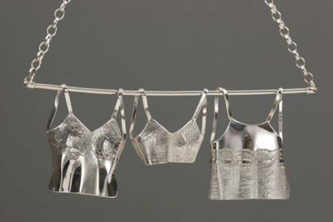 Clothes Line Necklace