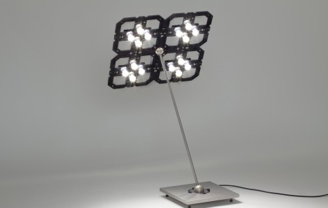 Cluster+ table lamp by Benwirth Licht: image via 3rings.designerpages.com