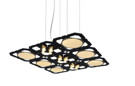 Cluster+ modular lighting by Benwirth Licht: image via 3rings.designerpages.com