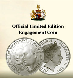 The Royal Engagement Alderey £5 Coin