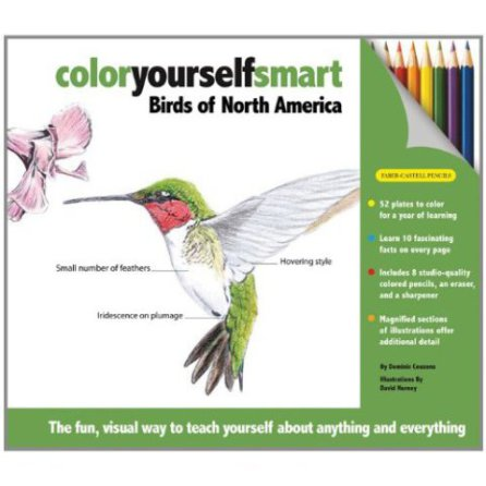 Color Yourself Smart -- Birds of North America