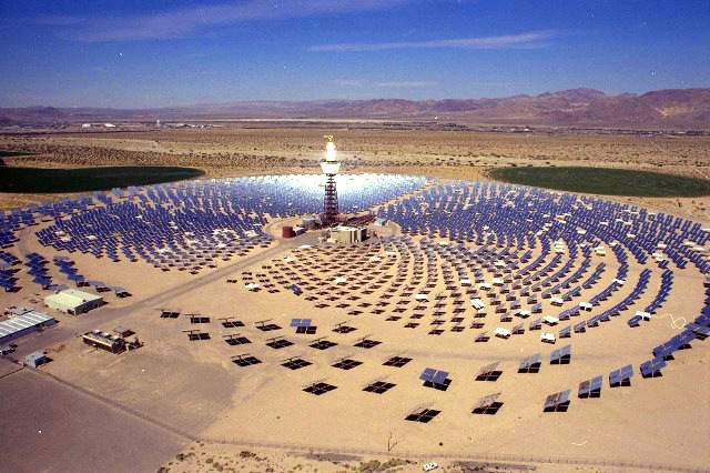 A Concentrated Solar Power Plant
