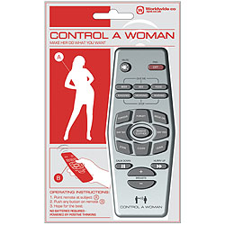 Woman Remote Controller